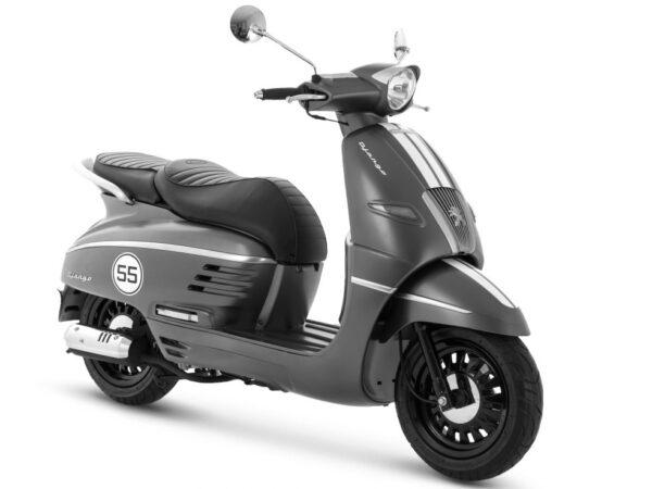 Django 125i Sport - Mad Grey