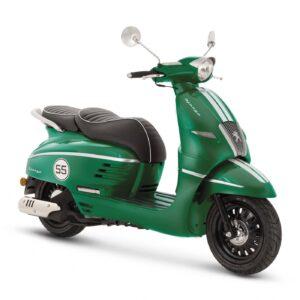 Django 125i Sport Racing Green